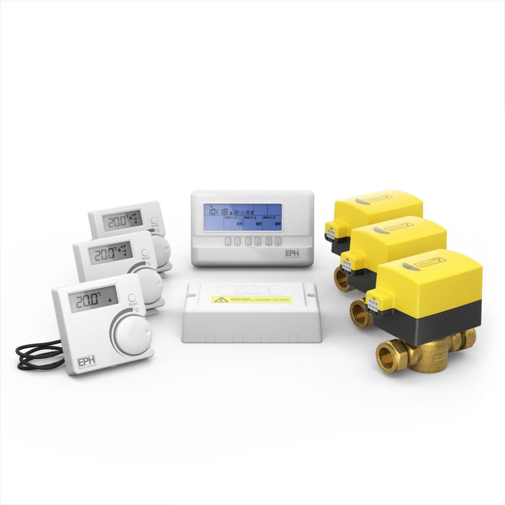 3 Zone Rf Heating Control Pack