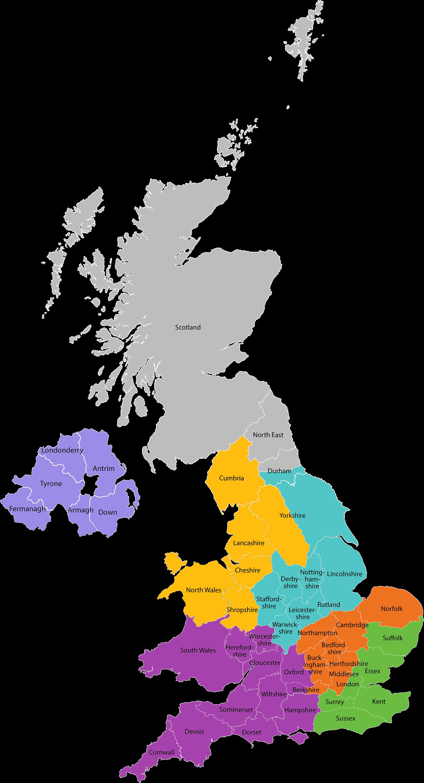 Map - UK
