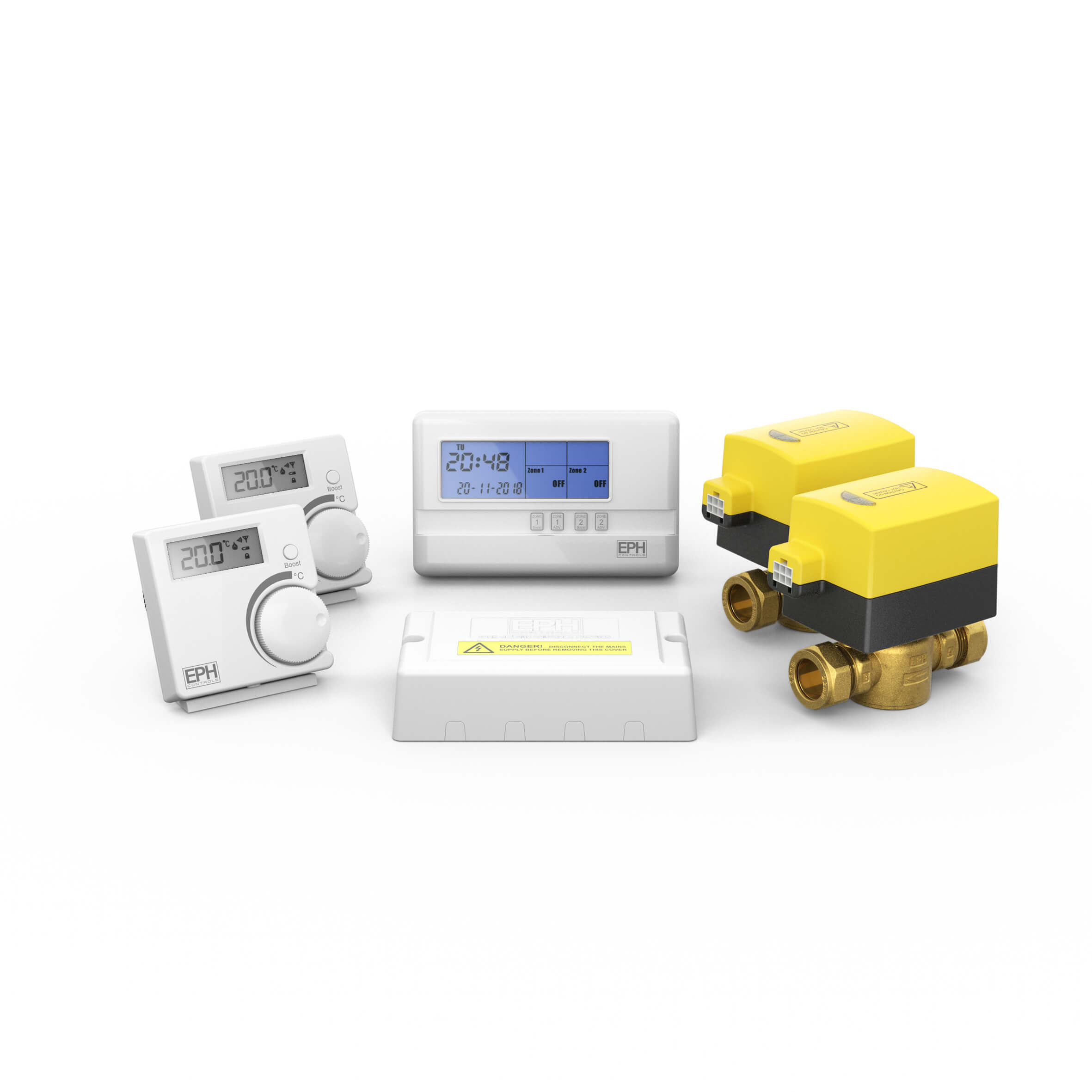 2 Zone Bi Zoning Rf Control Pack Eph Controls. Crf2p212201 High Resolution 927k. Wiring. Residential 2 Zone Thermostat Wiring Diagram At Scoala.co