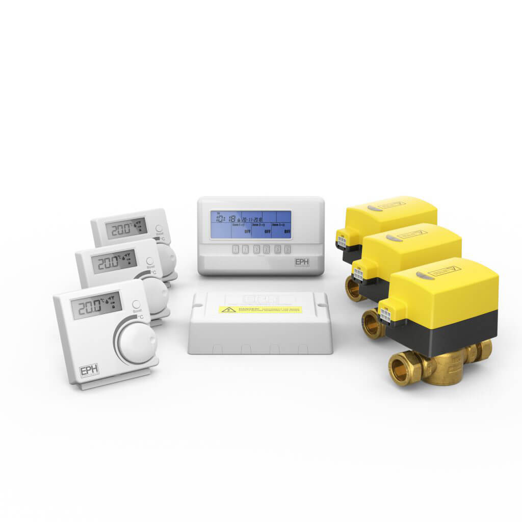 3 Zone Combi Zoning Rf Control Pack