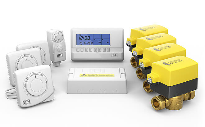 Hardwired Heating Control Packs Image