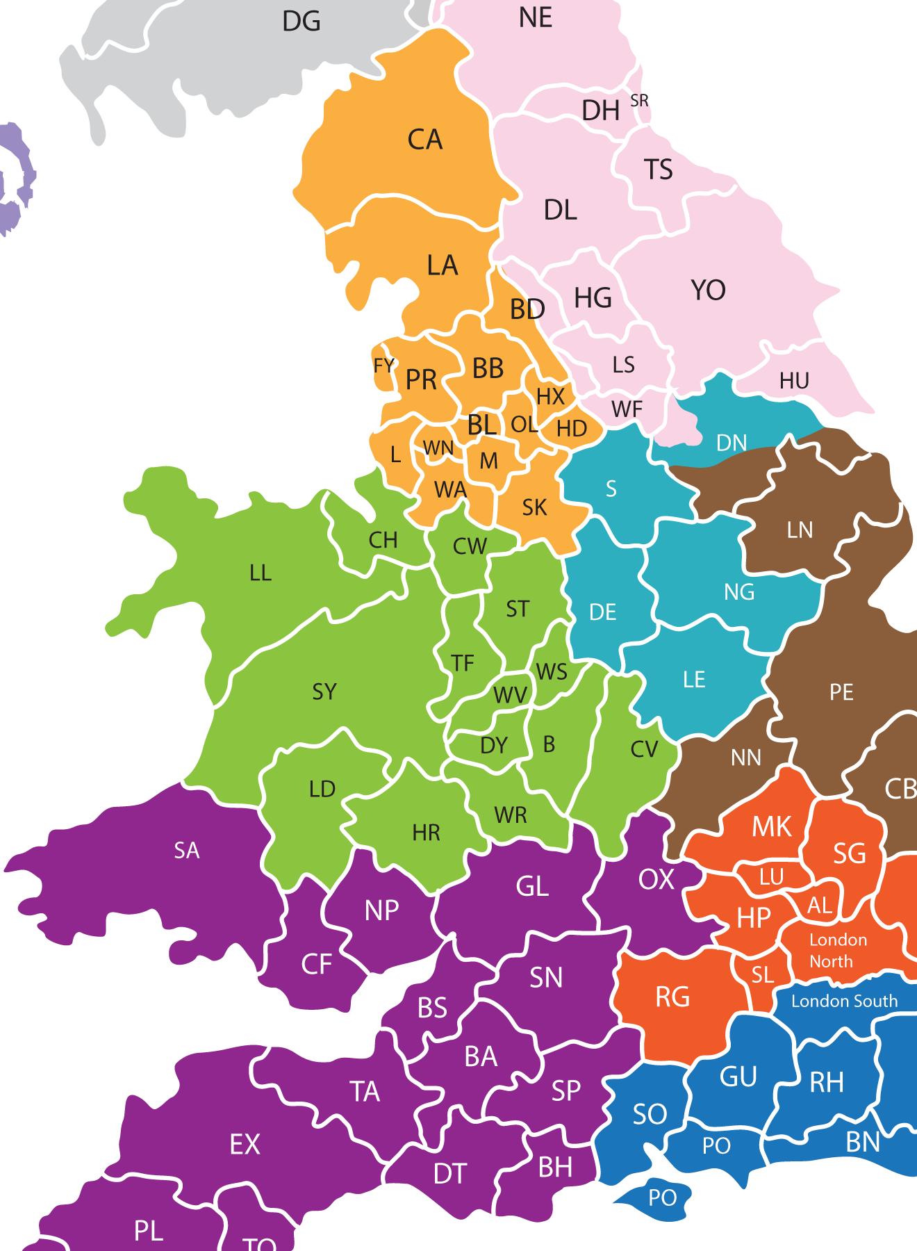 UK location map